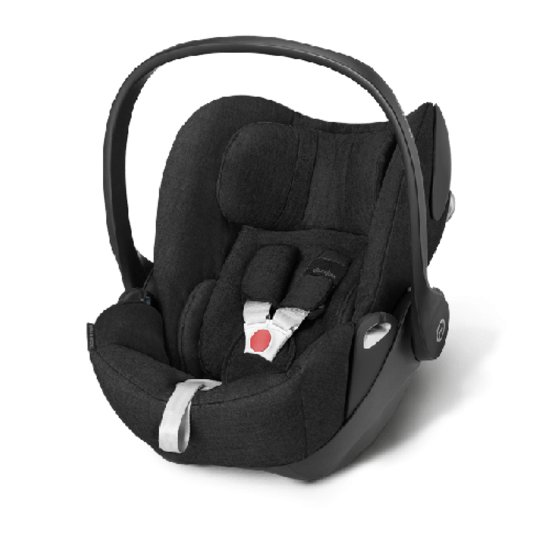 Cybex Cloud Q Plus Happy Black - Black Autostoel 0-13kg.